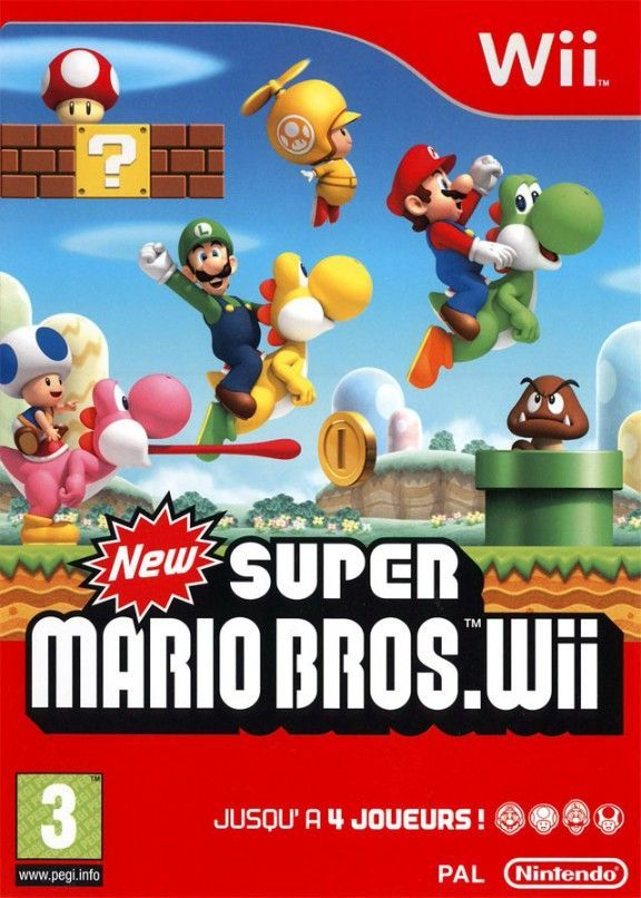 newer super mario bros wii iso