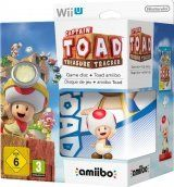 Captain Toad Treasure Tracker + Amiibo: Интерактивная фигурка Toad (Super Mario Collection) (Wii U)